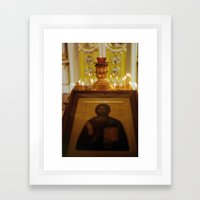 Altar Framed Art Print