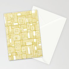 Golden Doodle patchwork Stationery Cards