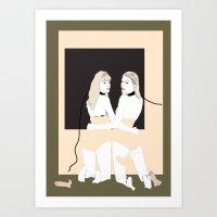 Bitch 3 Art Print