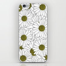 Daisy Yellow iPhone & iPod Skin