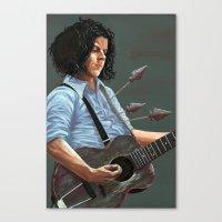 Blue Blood Blues Canvas Print