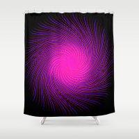 Pink Spirit Circle 2 Shower Curtain