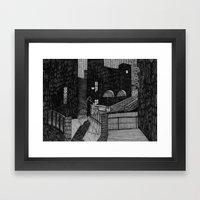 Le Notti Bianche Framed Art Print