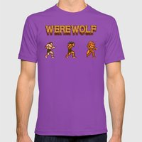 Unleash The Beast- Werew… Mens Fitted Tee Ultraviolet SMALL