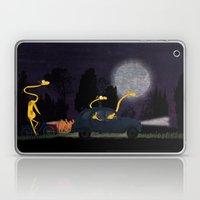 Voyage by night II (animal party) Laptop & iPad Skin
