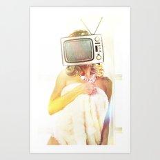 SEX ON TV - FOXY by ZZGLAM Art Print