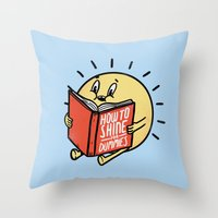How to shine for dummies Throw Pillow