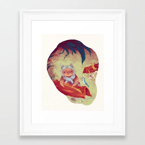 bon zigue Framed Art Print