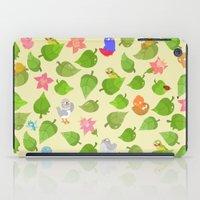 birds&leaves iPad Case