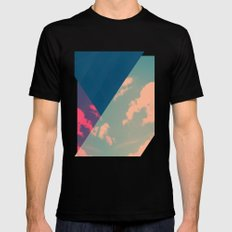 Under the Bridge SMALL Black Mens Fitted Tee