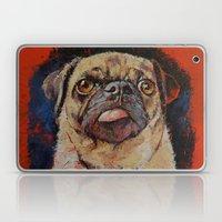 Pug Portrait Laptop & iPad Skin