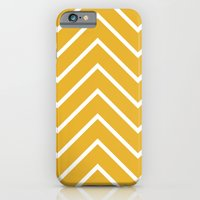 Gold Chevron iPhone 6 Slim Case