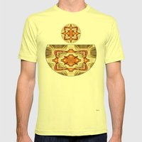 Her Bowl Mens Fitted Tee Lemon SMALL