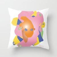 Creature 1 Throw Pillow