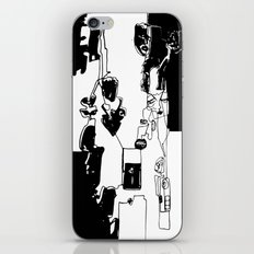 conflicted collection iPhone & iPod Skin