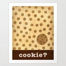 cookie? Art Print