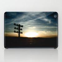 Sunset On The Road iPad Case