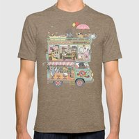 The dream car Mens Fitted Tee Tri-Coffee SMALL