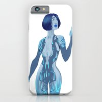 iPhone & iPod Case featuring Cortana by keygrin