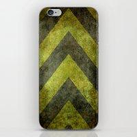 Warning Chevron #101 iPhone & iPod Skin