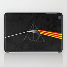 the darkside of the deathly hallows iPad Case