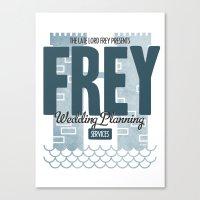 Frey Wedding Planning Se… Canvas Print