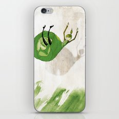 Lettuce Woman iPhone & iPod Skin