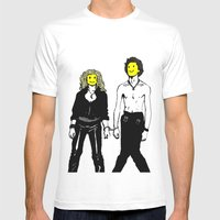 Sid&Nancy Mens Fitted Tee White SMALL