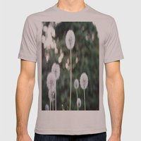 Dandelions Mens Fitted Tee Cinder SMALL