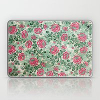 Retro French Floral Pattern Laptop & iPad Skin