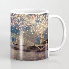 Love Wish Lanterns over Paris Mug