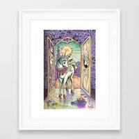 The Interior Castle- Las… Framed Art Print