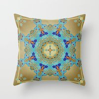 Mix&Match Byzantine Mosaic 01 Throw Pillow