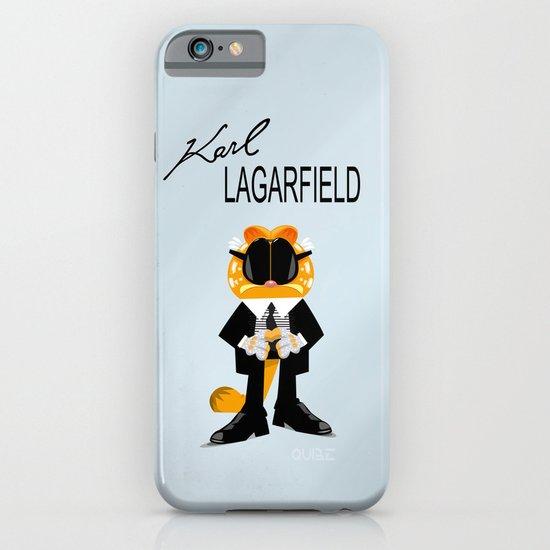 Coupling up Karl Lagarfield iPhone & iPod Case