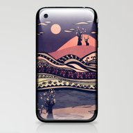 Psychedelic Mountains (c… iPhone & iPod Skin