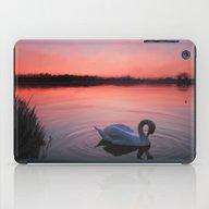 Swan On The Lake iPad Case