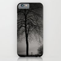 iPhone & iPod Case featuring silhouette at Durham Cathedral by Daniel Dent