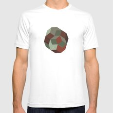 #231 Penrose's asteroid – Geometry Daily White SMALL Mens Fitted Tee