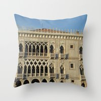 Ca' D'Oro Throw Pillow