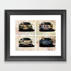 Lambo Art  Framed Art Print