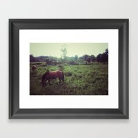 @VisitingSteven Instagra… Framed Art Print