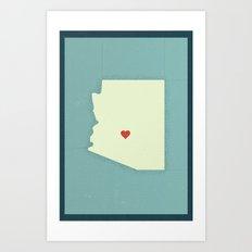Phoenix Love Art Print