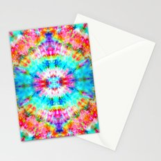 Rainbow Sunburst Stationery Cards