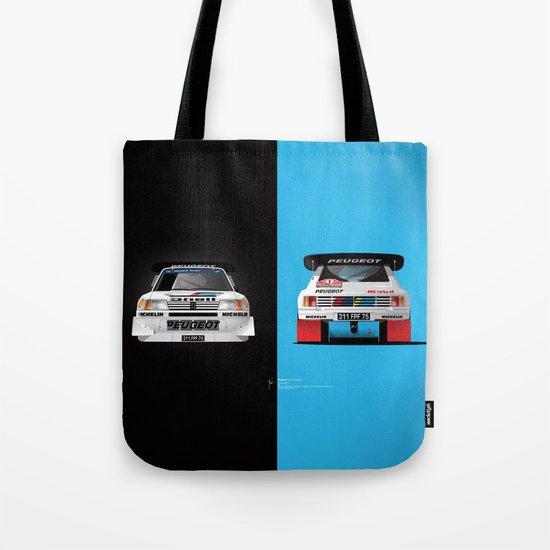 Group B Edition, N.º1, Peugeot 205 T16 E2 Tote Bag