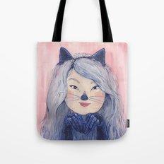 BaeBae Kitty Tote Bag