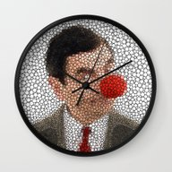 MR. RED NOSE Wall Clock