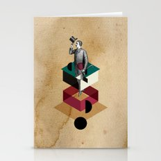 Male Figure Stationery Cards