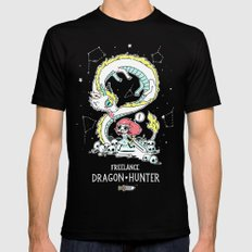 Dragon Hunter SMALL Mens Fitted Tee Black