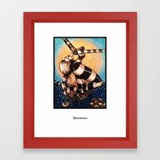 Moon Dance 02 Framed Art Print