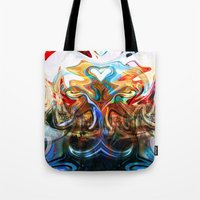liquified space Tote Bag